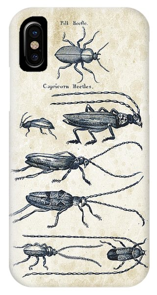 Insect iPhone Case - Insects - 1792 - 03 by Aged Pixel