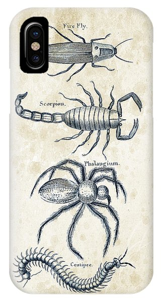 Insect iPhone Case - Insects - 1792 - 19 by Aged Pixel
