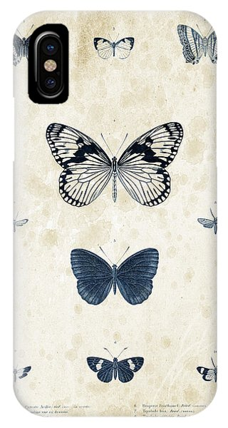 Coleoptera iPhone Case - Insects - 1832 - 03 by Aged Pixel