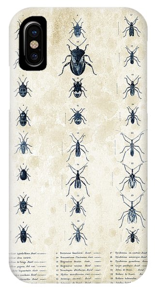Coleoptera iPhone Case - Insects - 1832 - 11 by Aged Pixel