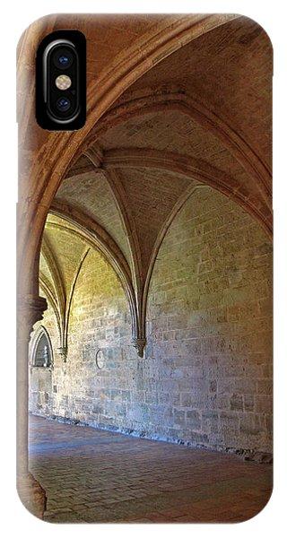 Inside A Monastery Dordogne France  IPhone Case