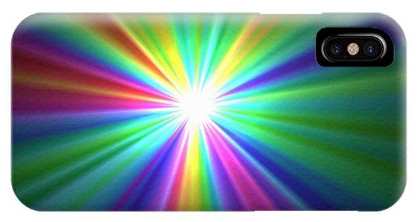 Inside A Rainbow IPhone Case