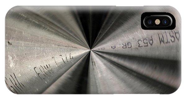Inside A Steel Pipe IPhone Case