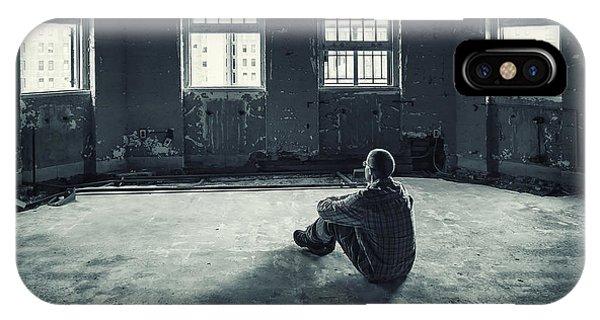 Desolation iPhone Case - Inside My Darkness by Evelina Kremsdorf