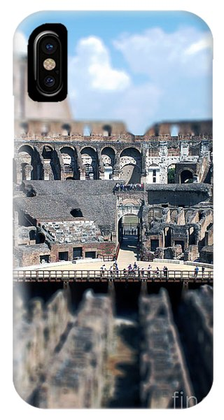 Inside The Colosseum IPhone Case