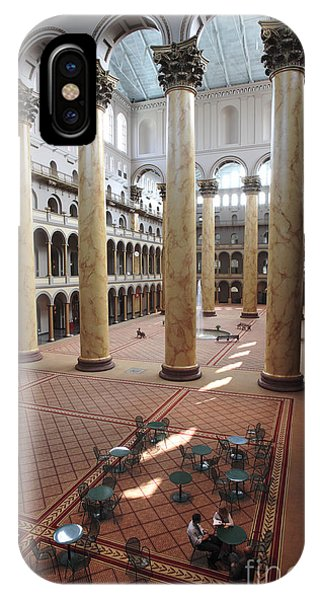 iPhone Case - Inside The National Building Museum In Washington Dc by William Kuta
