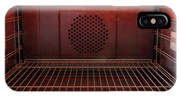Shelves iPhone Case - Inside The Oven Front by Allan Swart