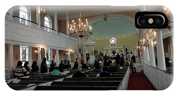 Inside The S. Georges Church Episcopal Anglican IPhone Case