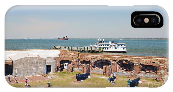 Inside View Of Fort Sumter IPhone Case