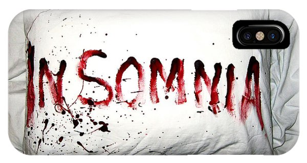 Zombies iPhone Case - Insomnia by Nicklas Gustafsson