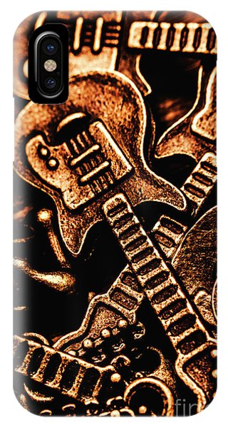 Rock And Roll Art iPhone Case - Instrumental Abstract by Jorgo Photography - Wall Art Gallery