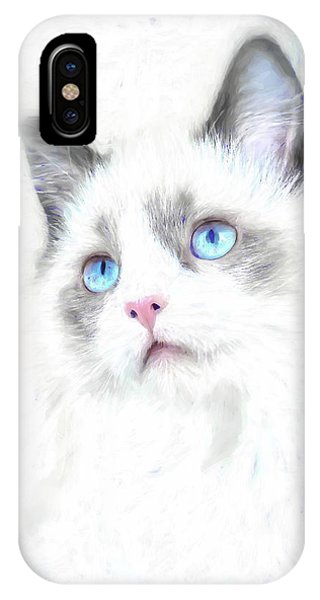Intense Gaze IPhone Case