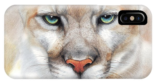 Intensity - Mountain Lion - Puma IPhone Case