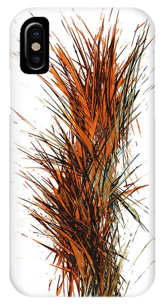 IPhone Case featuring the painting Intensive Abstract Painting 1030.050512 by Kris Haas