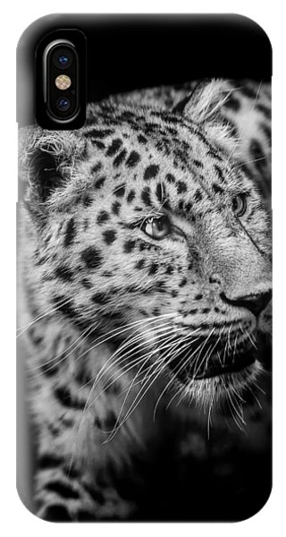 Mono iPhone Case - Intent by Paul Neville
