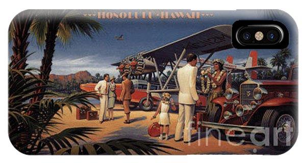 Inter Island Airways-honolulu Hawaii IPhone Case