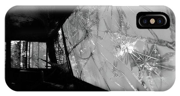 Interior In Gray IPhone Case