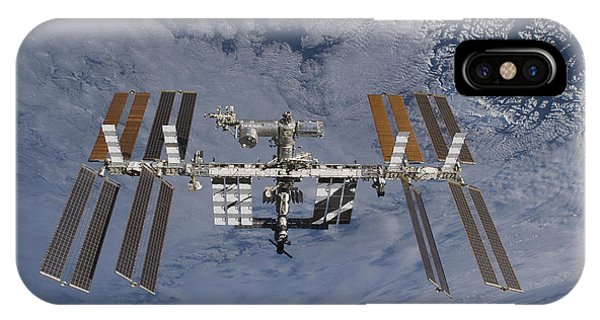 International Space Station iPhone Case - International Space Station Set by Stocktrek Images