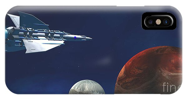 Endless iPhone Case - Interplanetary Travel by Corey Ford