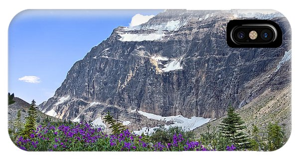 Interpretive Apps In The Canadian Rockies IPhone Case