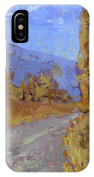 Into Autumn IPhone Case