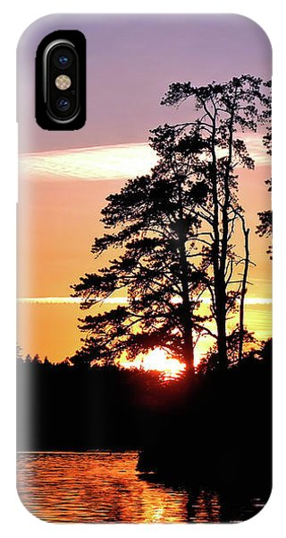 Into Shadow IPhone Case