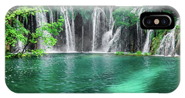 Into The Waterfalls - Plitvice Lakes National Park Croatia IPhone Case