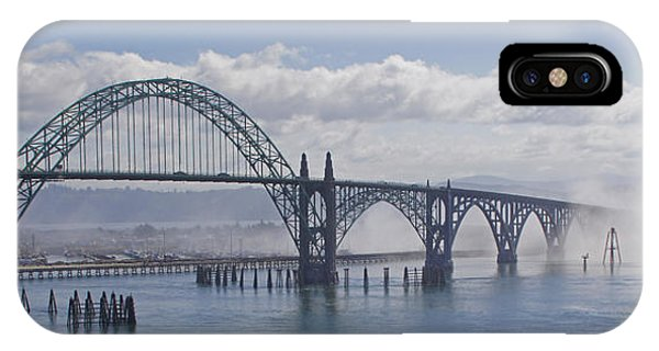 Into The Fog At Newport IPhone Case
