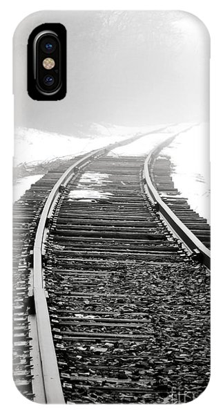Shrouds iPhone Case - Into The Fog by Olivier Le Queinec