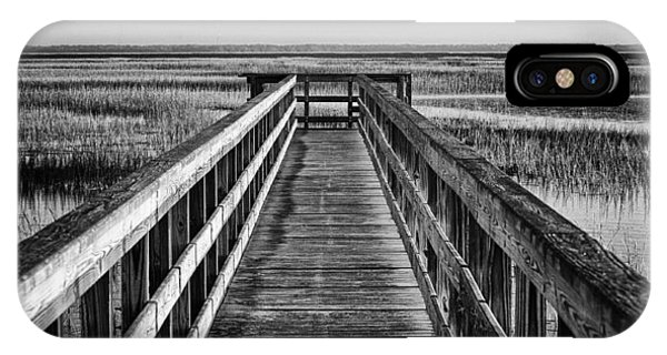Tidal Marsh iPhone Case - Into The Marsh  by Phill Doherty