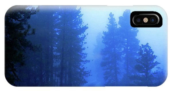 IPhone Case featuring the photograph Into The Snowy Woods by Ben Upham III