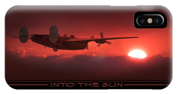 Bomber iPhone Case - Into The Sun Show Print by Mike McGlothlen