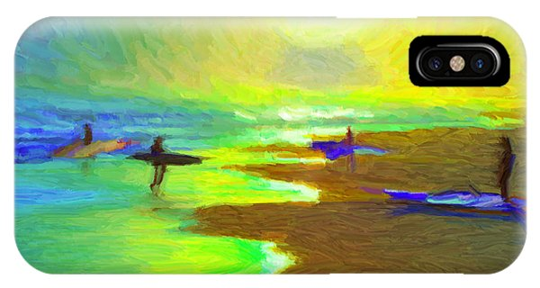 Into The Surf IPhone Case