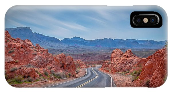 Into The Valley Of Fire IPhone Case