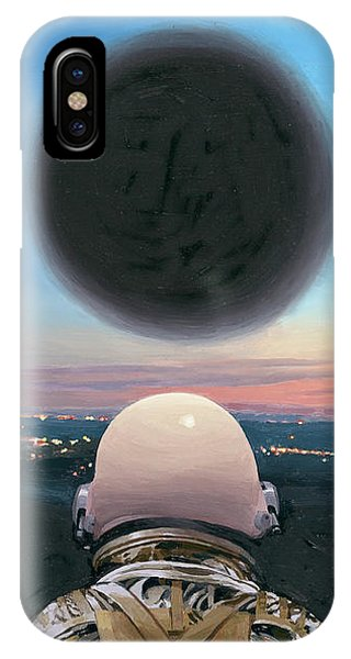 Into The Void IPhone Case