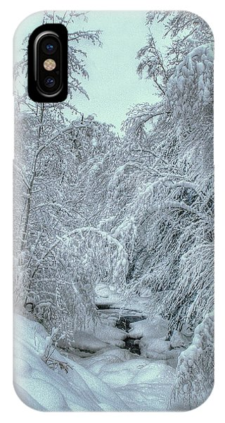 IPhone Case featuring the photograph Into White by Wayne King