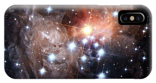 Intricate Structures In Interstellar IPhone Case