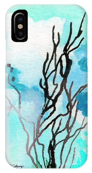 Intuitive Abstract Modern Art 20162 IPhone Case