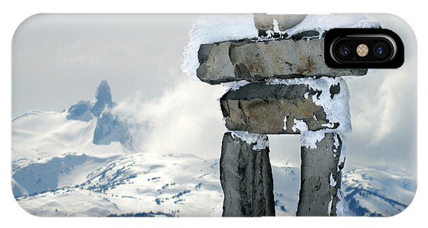 IPhone Case featuring the photograph Inukchuk Whistler by Pierre Leclerc Photography