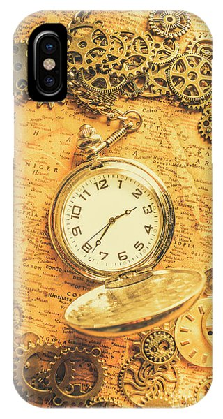 Connections iPhone Case - Invention Of Time by Jorgo Photography - Wall Art Gallery