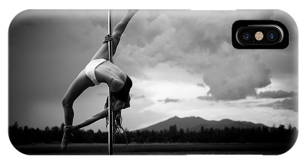 Inverted Splits Pole Dance IPhone Case
