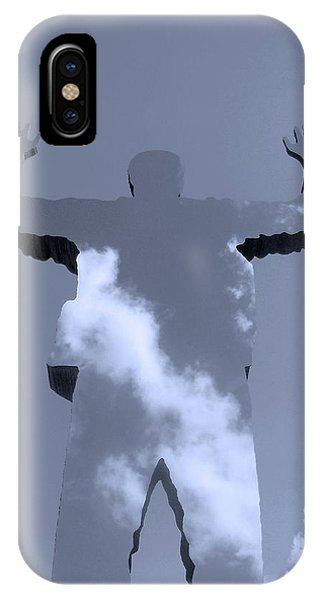 Cloud iPhone Case - Invisible ... by Juergen Weiss