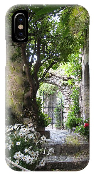 Inviting Courtyard IPhone Case