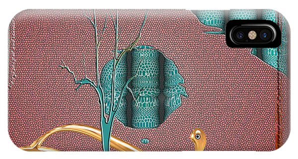 IPhone Case featuring the digital art Inw_20a5562-sq_sap-run-feathers-to-come by Kateri Starczewski