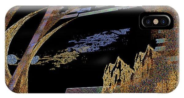 IPhone Case featuring the digital art Inw_20a5581_hoofed by Kateri Starczewski