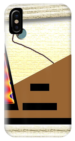 IPhone Case featuring the digital art Inw_20a6143_rendezvous by Kateri Starczewski