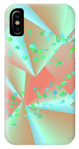 IPhone Case featuring the digital art inw_20a6151-MH17 sweet currents by Kateri Starczewski