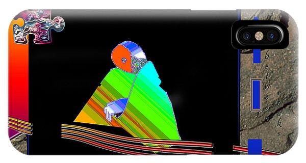 IPhone Case featuring the digital art Inw_20a6454_between-rocks by Kateri Starczewski