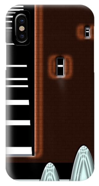 IPhone Case featuring the digital art Inw_20a6472_basements by Kateri Starczewski