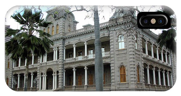 IPhone Case featuring the photograph Iolani Palace, Honolulu, Hawaii by Mark Czerniec